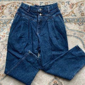 Vintage pleated high waist Lee Jeans
